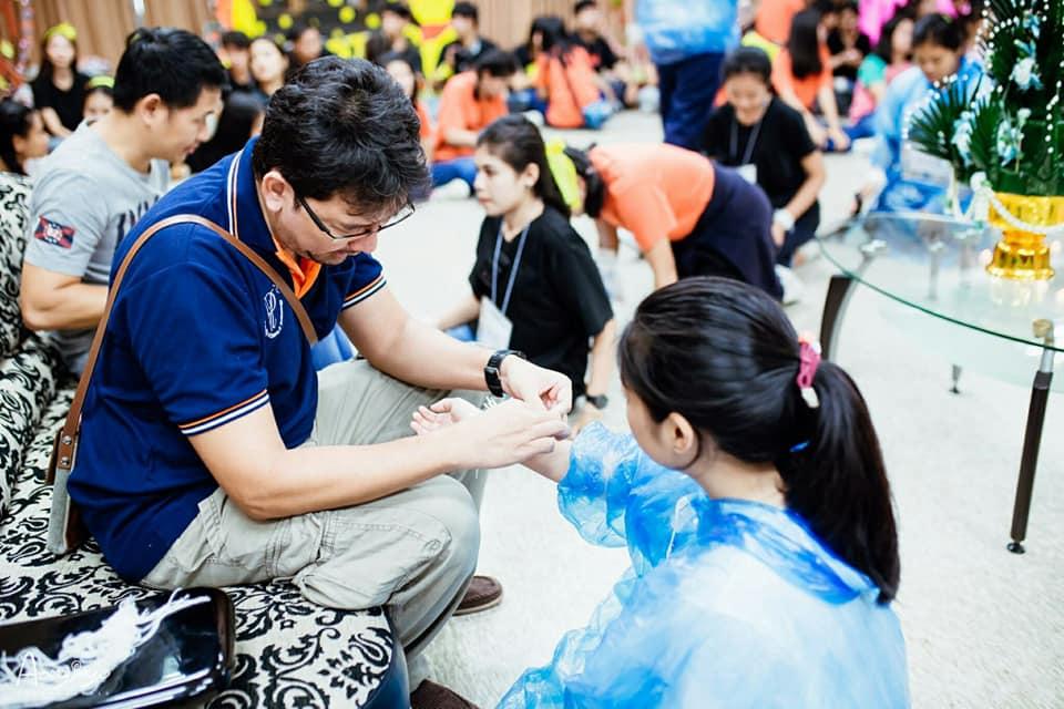 กิจกรรมสานสัมพันธ์น้องพี่นักศึกษาหลักสูตรอาชีวอนามัยและความปลอดภัย รุ่นที่10